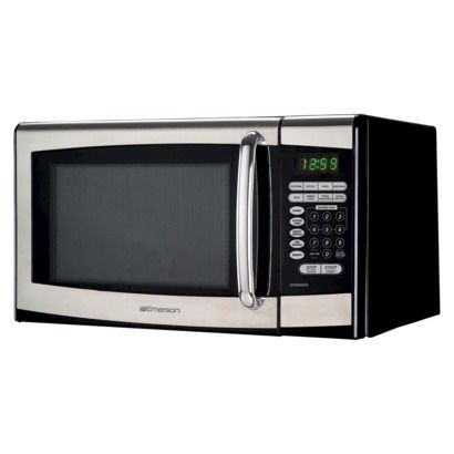 Target Emerson 900 Watt Microwave Oven Stainless Steel Microwave Microwave Microwave Oven