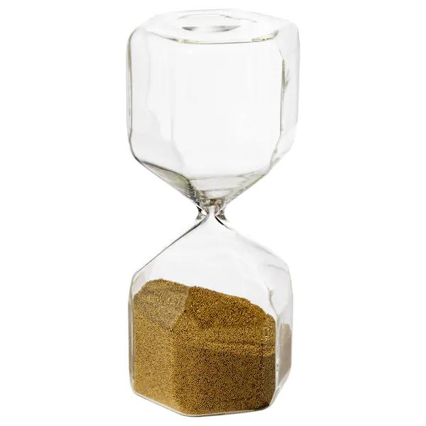 Tillsyn Decorative Hourglass Clear Glass Ikea Hourglass Decorative Accessories Kallax Shelf Unit