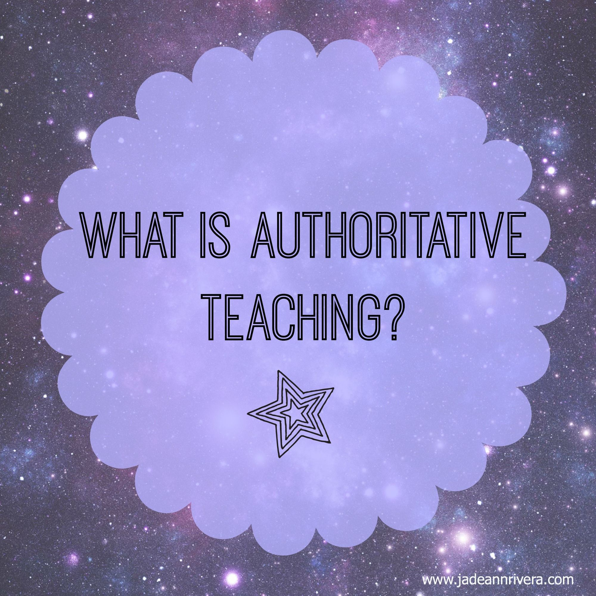 What Is Authoritative Teaching Jade Rivera Teaching Style Teaching Gifted Children Teaching [ 2000 x 2000 Pixel ]
