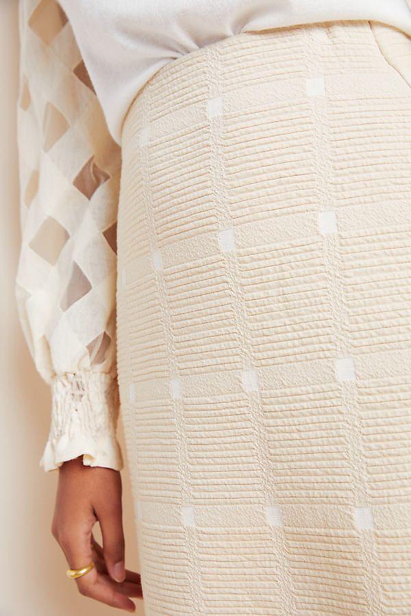 Windsor Knit Pencil Skirt