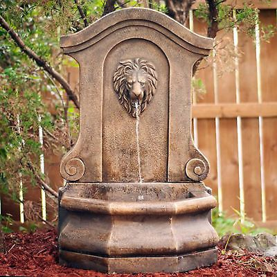 Waterfall Fountain Outdoor Garden Backyard Patio Home Decor Single