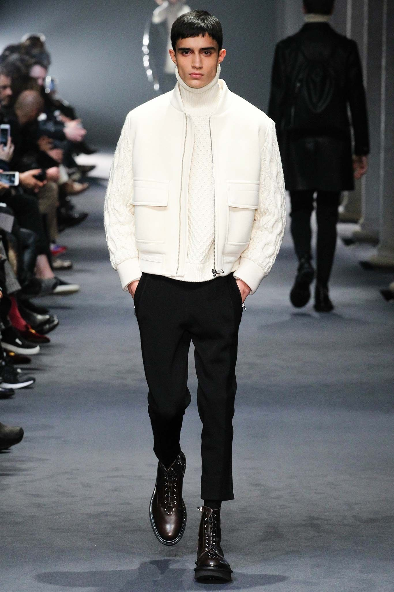 Neil Barrett Fall 2015 Menswear Fashion Show is part of Menswear - Neil Barrett Fall 2015 Menswear collection, runway looks, beauty, models, and reviews