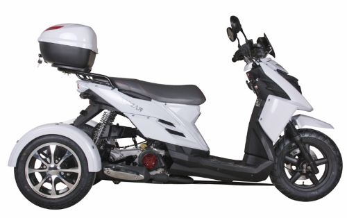 50cc 3 Wheel Trike Scooter Tri031 Automatic 4 Stroke Moped With