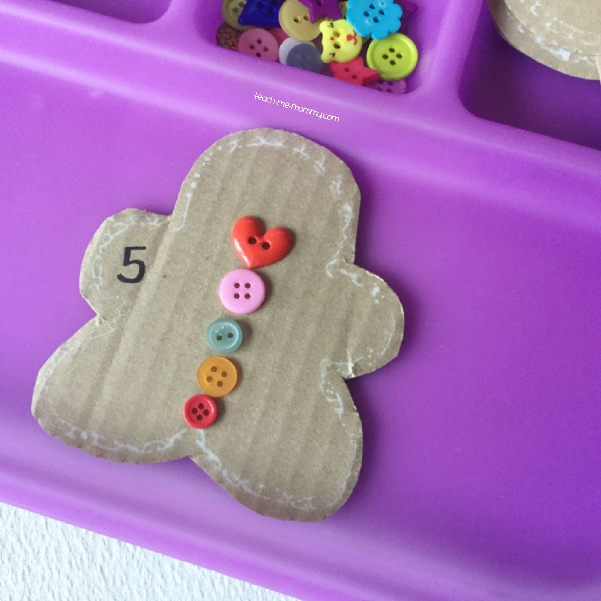 Gingerbread Cookies Counting