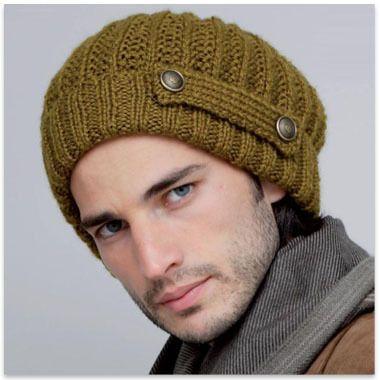 bonnet homme tricot gratuit