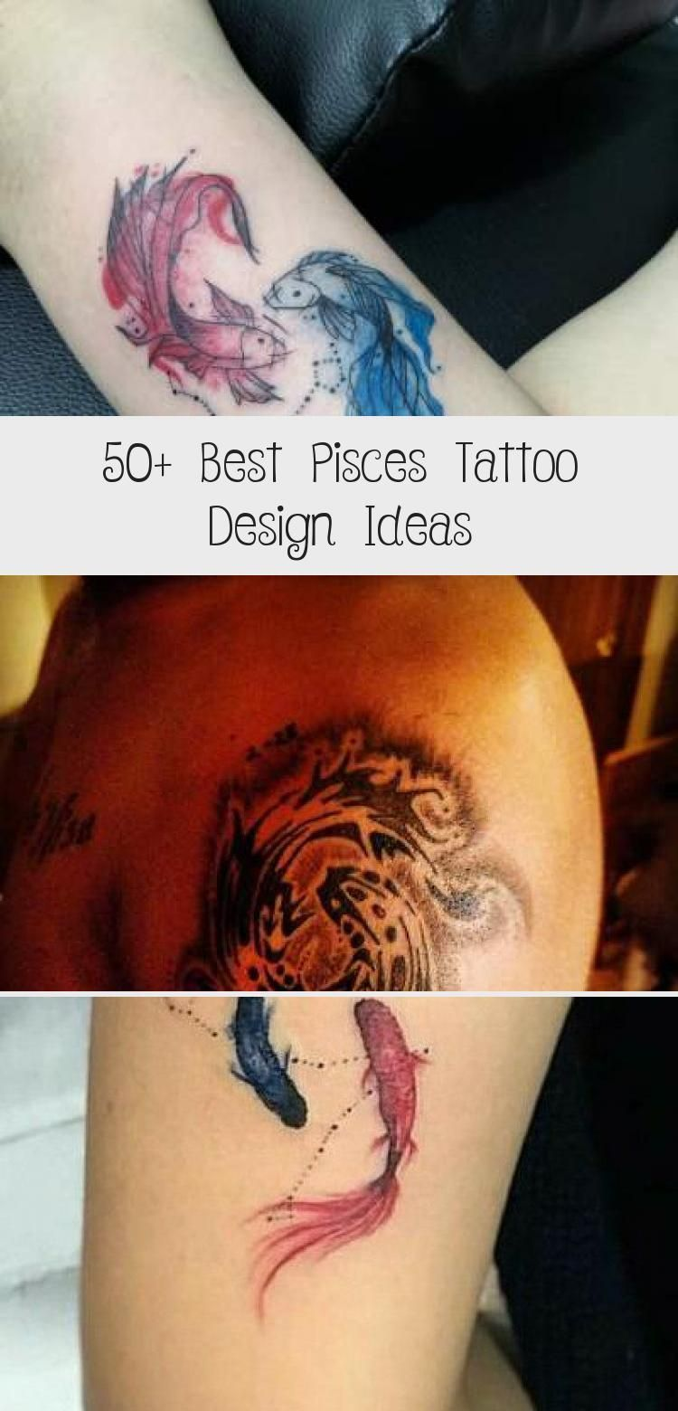 Photo of 50+ Best Pisces Tattoo Design-Ideen – Tattoo – 50+ Best Pisces Tattoo Design-Id …