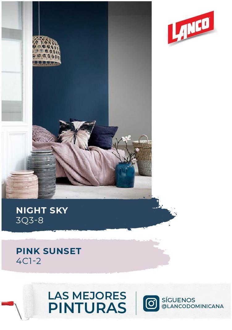 El Azul Marino Combina Muy Bien Con El Rosa Principalmente Con Los Tonos De Rosa Mas Suaves Paleta De Colores Azul Tonos De Azul Decoracion De Paredes De Casa