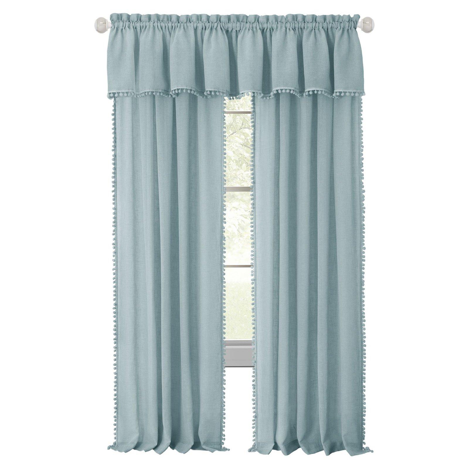 achim wallace rod pocket window curtain