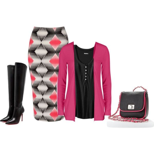 Neon For the Office, created by minnieleehaven on Polyvore