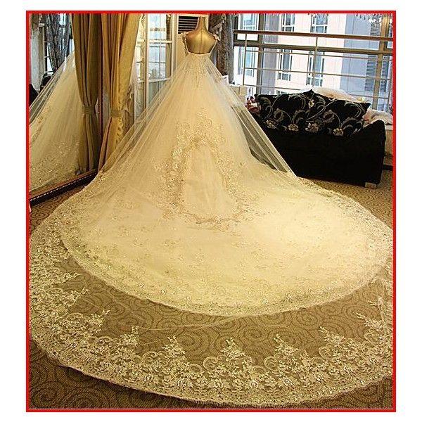 YZ CRYSTAL WEDDING Dress ($799) ❤ liked on Polyvore featuring dresses, beige dress and crystal dress
