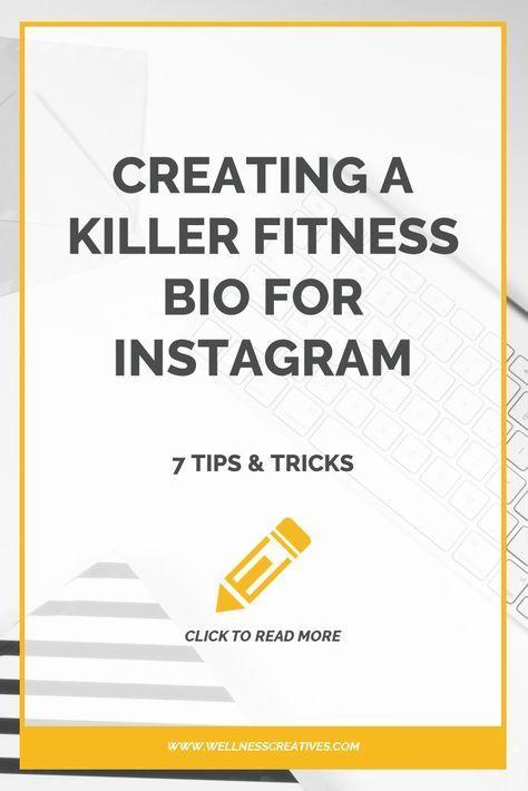 Een geweldige fitnessbio maken voor Instagram