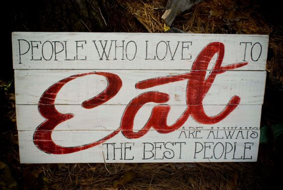 Kitchen Eat Sign With Quote Food Sign Wedding Reception Etsy Eat Sign Wedding Reception Food Julia Child Quotes