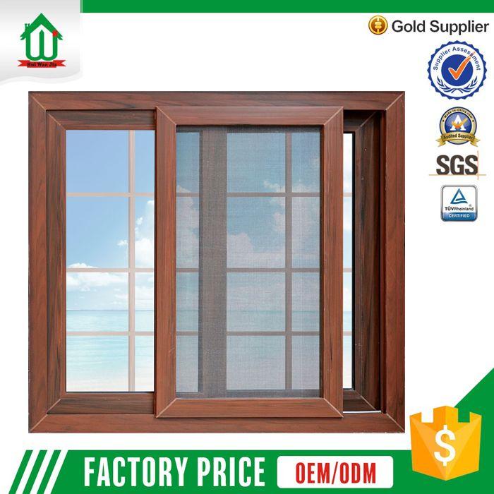 New Design Wholesale Price Wood Color Pvc Window Grills Design For Sliding Windows Window Design Window Grill Design Sliding Window Design