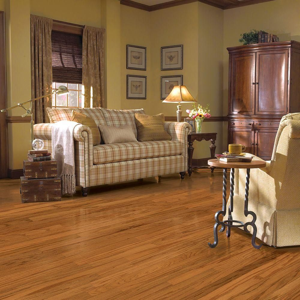 Oak fall meadow 3 8 in thick x 5 in wide x random length for Bruce hardwood floors 3 8