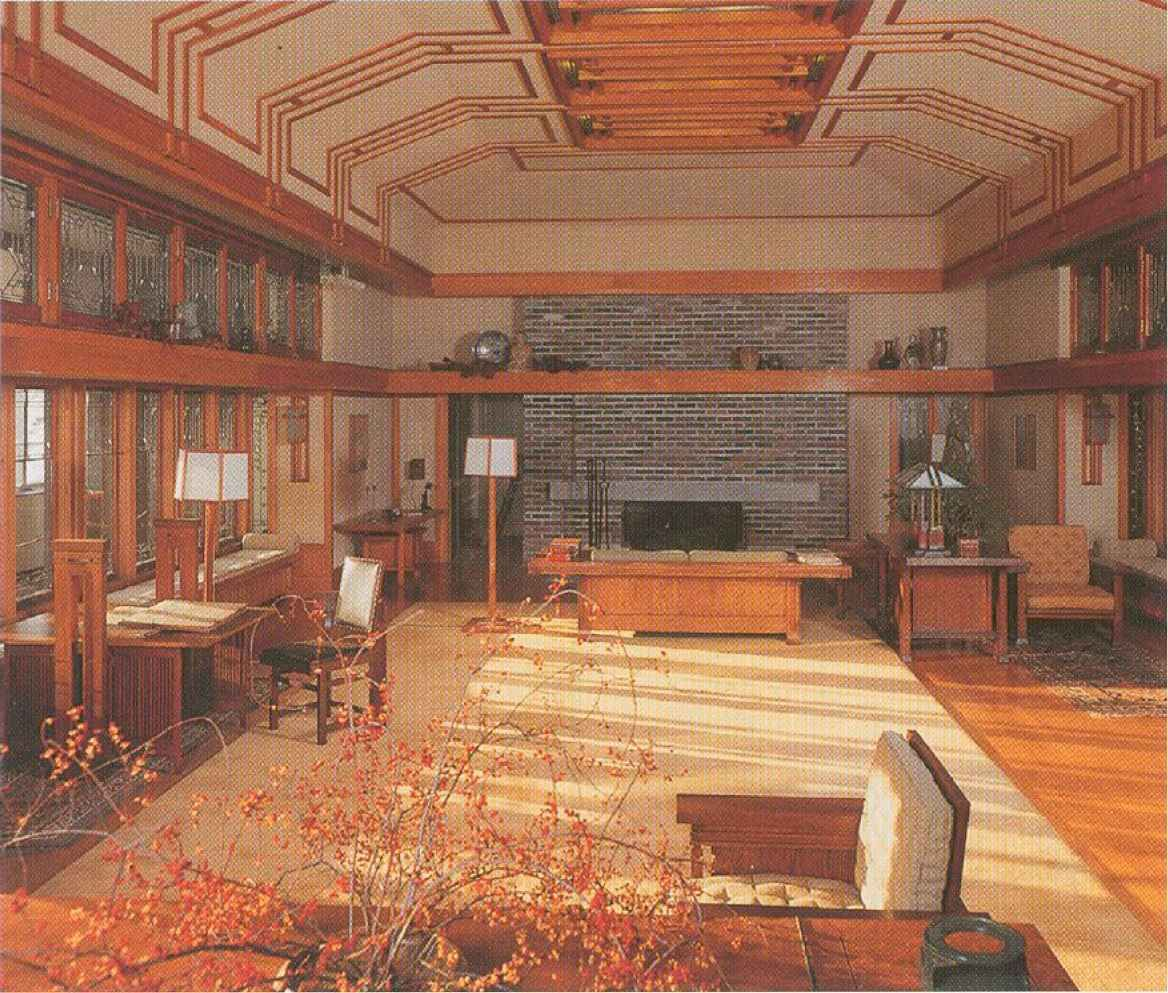 Living Room. Francis W. Little House II. Wayzata