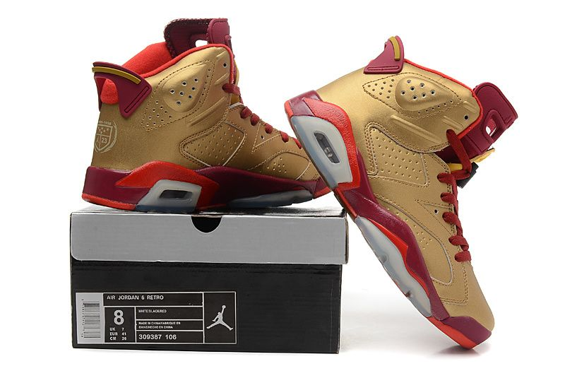 Air Jordan 6 Gold