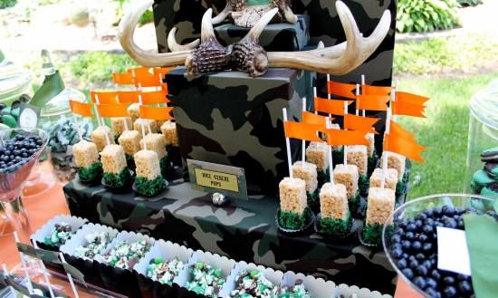 Hunting Celebration Of Life Memorial Party Ideas