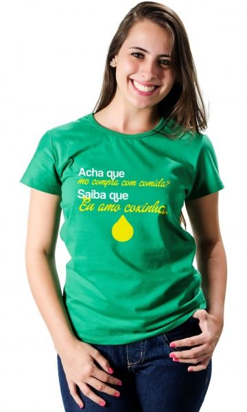 Dica Palcofashion Camiseta Coxinha Moda Fashion Camisetas