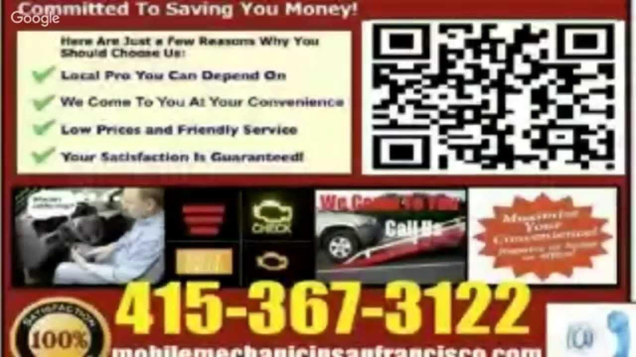 The best Mobile Mechanic San Francisco FL auto car repair