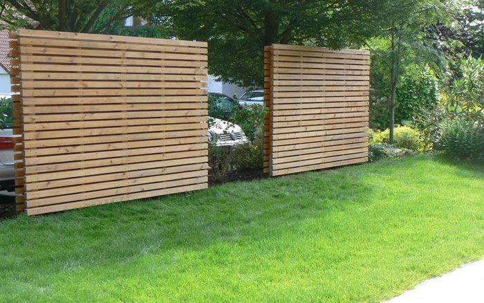 Larche Sichtschutz Fence Backyard Fences Und Front Yard Fence