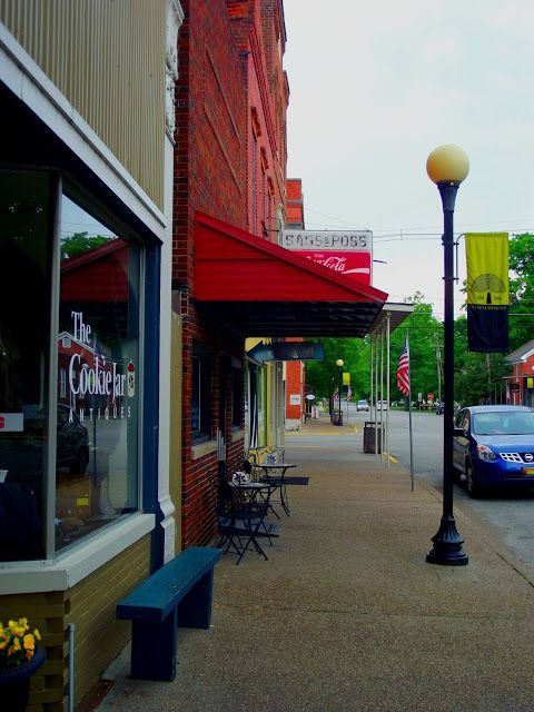 Indiana Places and History: Indiana Photo of the Day - Downtown New Harmony, I...