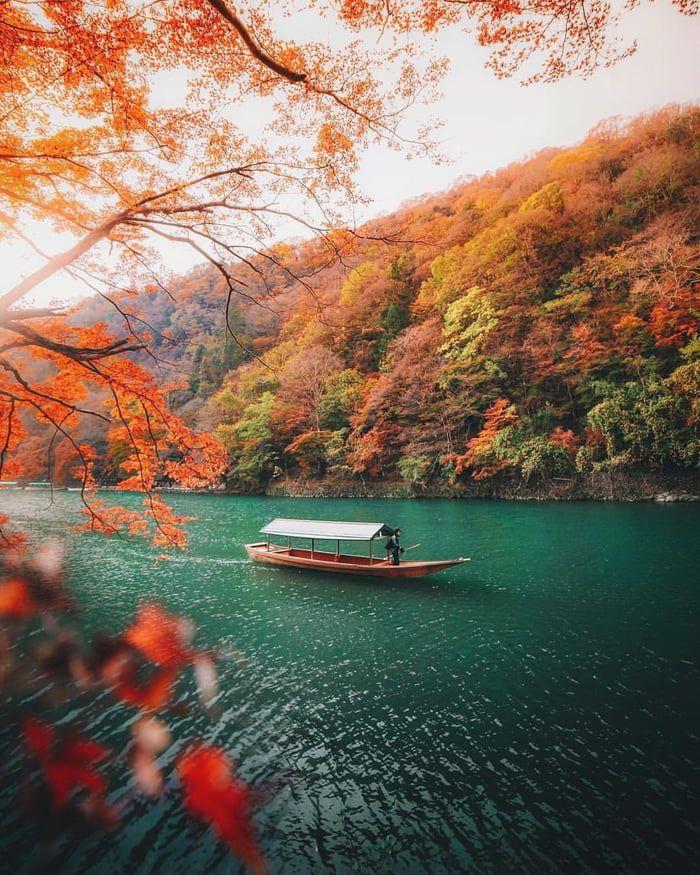 Fall Colors, Kyoto, Japan Pemandangan, Tempat liburan