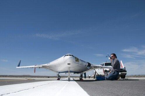 Scale X craft test flight