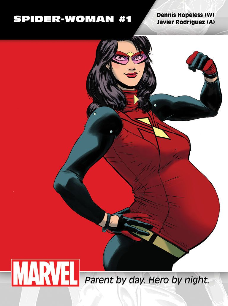 """Images for : Hopeless Talks """"Spider-Woman"""" and Balancing Crime Fighting with Motherhood - Comic Book Resources"""