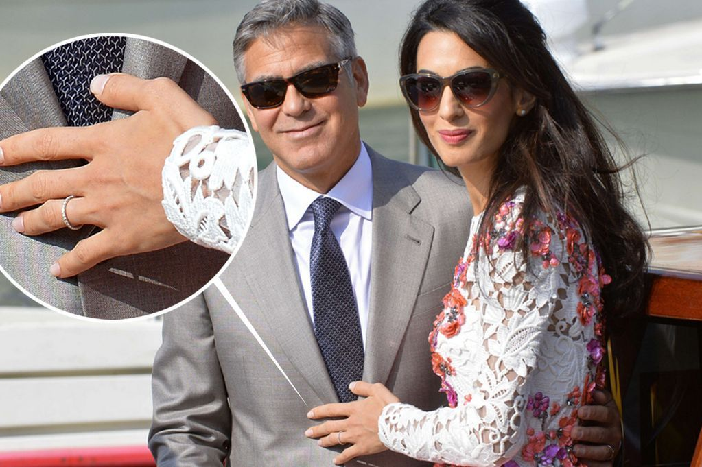 George Clooney Wedding Bands Rings By Amal Alamuddin Accessories U0026 Jewellery