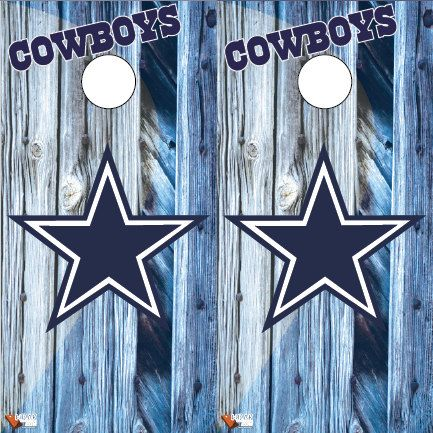 dallas cowboys cornhole board wrap decals by on etsy - Cornhole Board Wraps