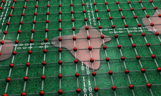 Eletrônica Alvorada : Material se auto-organiza e cria processador por c...