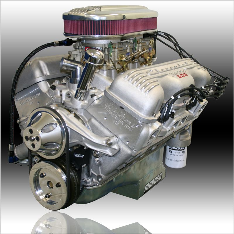 Shafiroff Racing 545hp 509ci All Aluminum 409 21 500 Engineering Chevy Crate Engines
