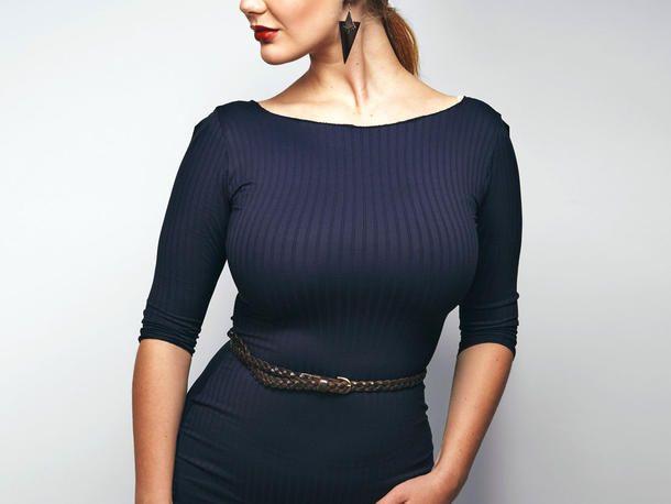 Große Oberweite: Kleider, Blusen und Co. für eine schöne ...