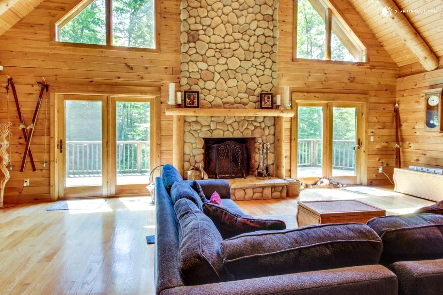 Luxury Cabin Rental with Game Room near Stratton Mountain