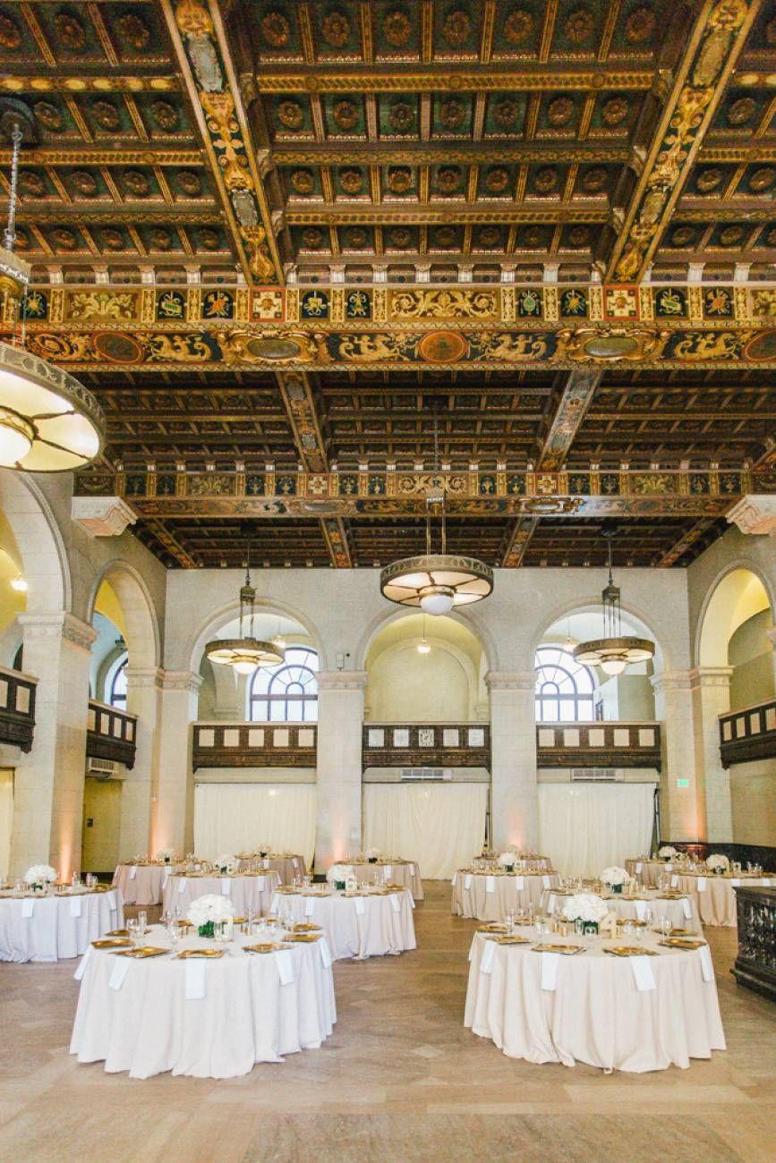 Adrienne & Garrett's Classic Majestic Halls Wedding