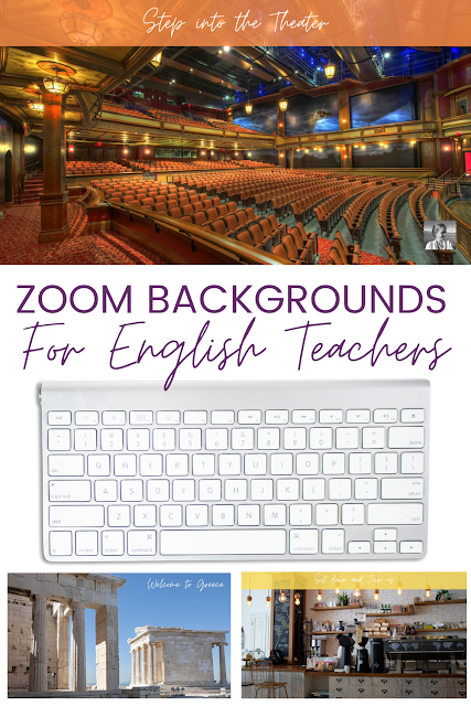Epic Zoom Backgrounds For Ela How To Use Them High School English Lessons High School English Lesson Plans English Teacher