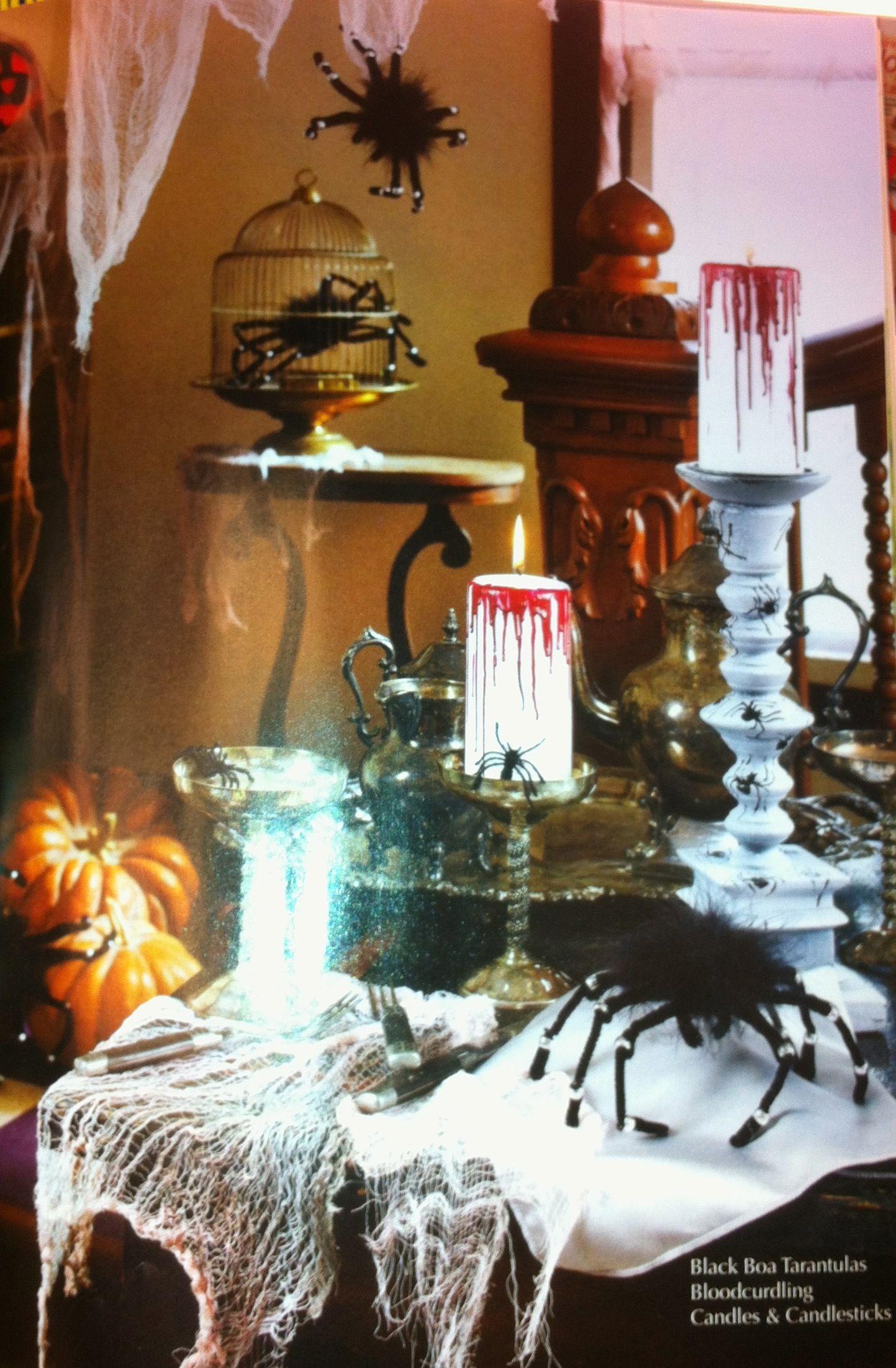 decoration ideas halloween decorations ideas pinterest. Black Bedroom Furniture Sets. Home Design Ideas
