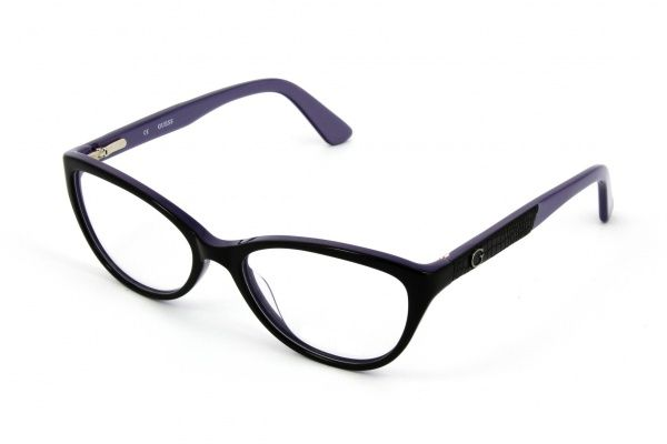 Lunettes de vue Guess GU2509 Noir Violet - Opticien Krys   Lunettes ... befebe48d3ba