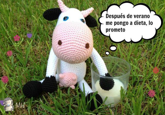 Amigurumi Vaca : Vaca amigurumi amigurumis amigurumi patterns