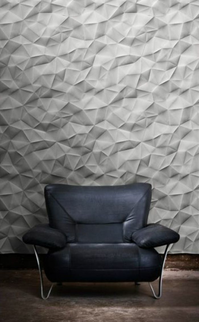 le panneau mural 3d un luxe facile avoir salons walls and interior walls. Black Bedroom Furniture Sets. Home Design Ideas