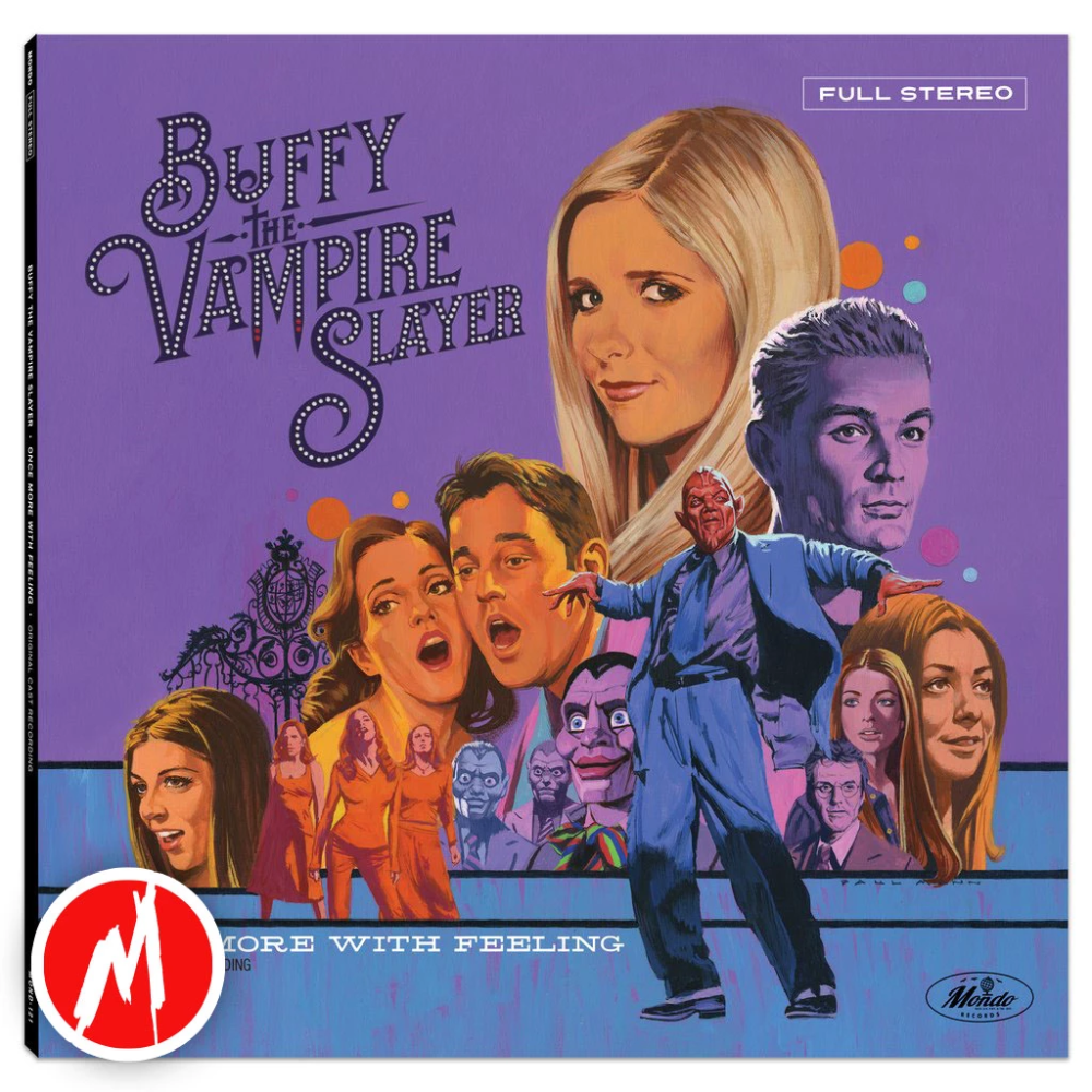 Buffy The Vampire Slayer Once More With Feeling Lp In 2020 Buffy The Vampire Slayer Buffy Buffy The Vampire