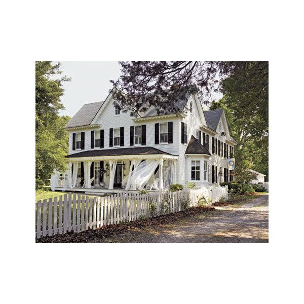 Victorian Home Designer Carrie Raphael - Swedish Style Maryland Farmhouse - Country Living