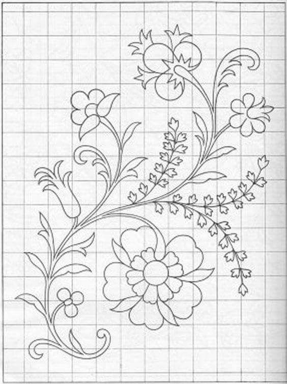 Foto de PATRONES - Google Fotos | Flowers | Bordado, Bordado crewel ...