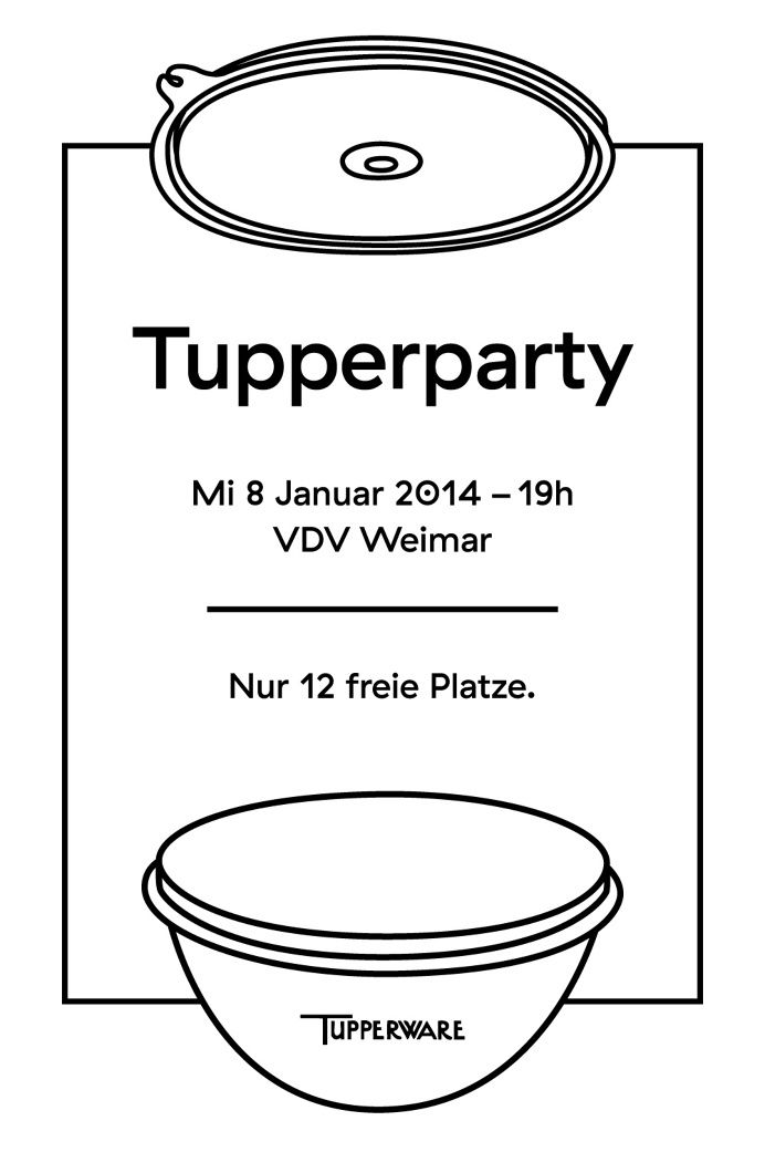 #Tupperware #Tupperparty #Party #Plastic #Invitation (mit