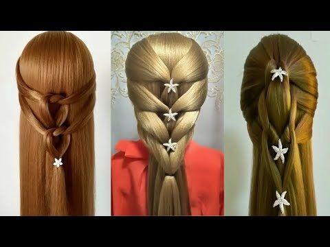 Beautiful Hairstyles 2017 Quick Easy Braids Peinados Rapidos Y Faciles Para Las Ninas Prt1 Peinados Poco Cabello Peinados Faciles Pelo Corto Peinados Faciles