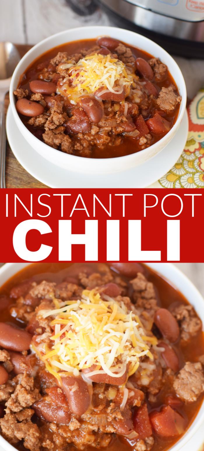 Instant Pot Chili Chili Recipe Easy Instant Pot Dinner Recipes Chili Instant Pot Recipe