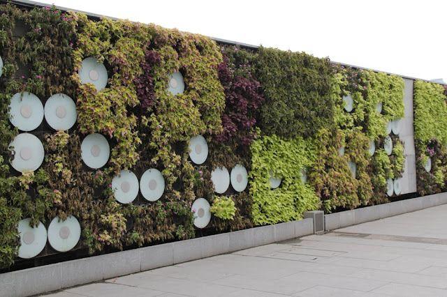 Jardín vertical China
