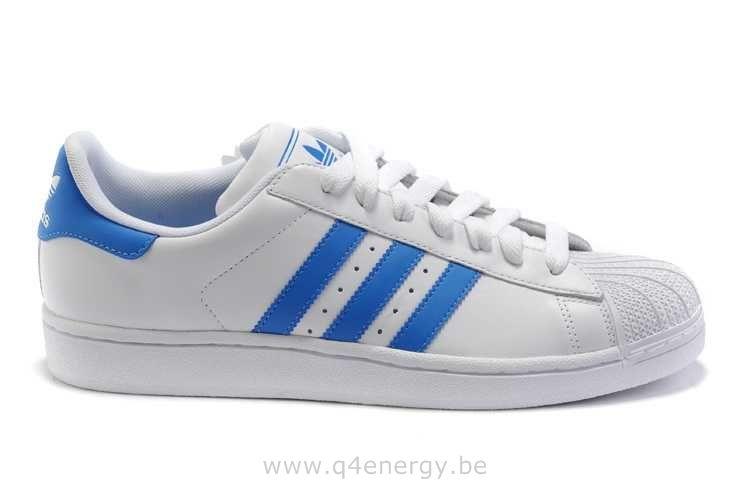 adidas superstar homme bleu blanc
