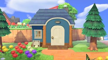 Pin By Rrf On Acnh Villager Houses Animal Crossing Yellow Playroom Dizzy