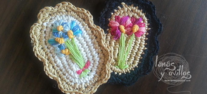 vintage brooch crochet free pattern patrón gratis | CROCHET JEWELRY ...